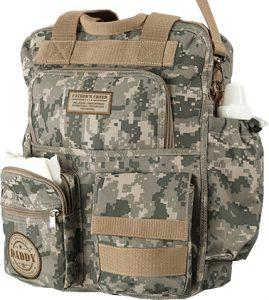 Military Daddy Camo Diaper Bag