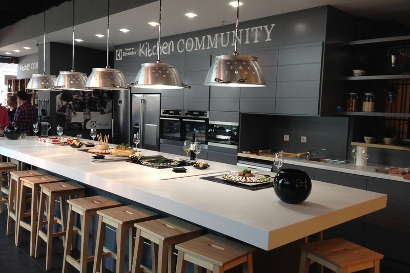 "Kitchen Community en ""Espacio Torrelodones"""