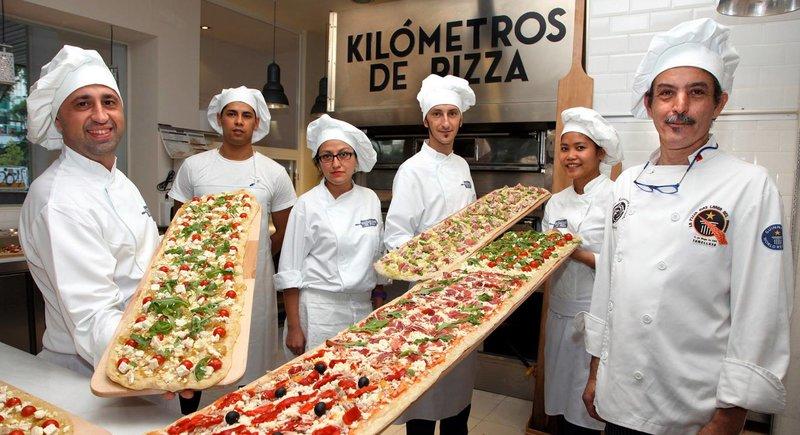 Kilómetros de Pizza Restaurantes Sin Gluten con Niños por Madrid