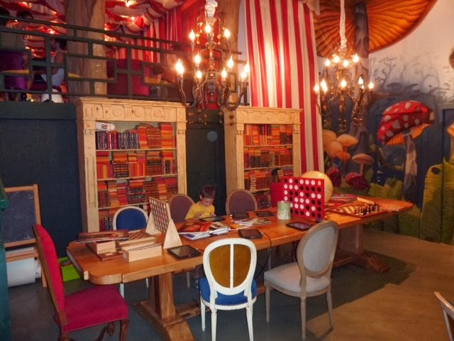 Zona de estudio en Pudding Barcelona