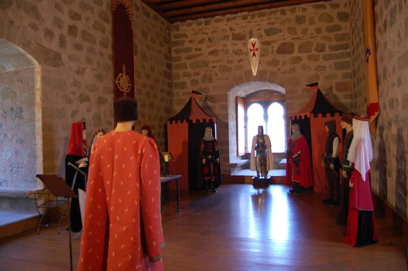 Interior del Castillo de la Triste Condesa