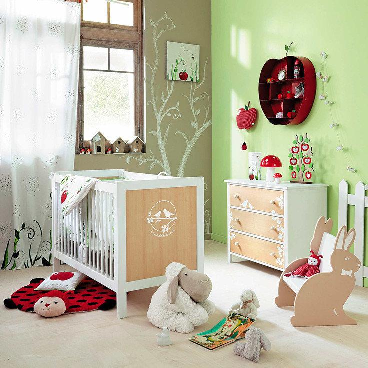 Dormitorio de bebé Lapinou