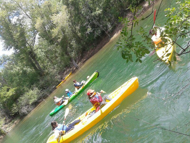 Rutas en Canoa con Niños