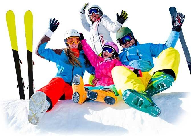 Esquiar con niños en verano