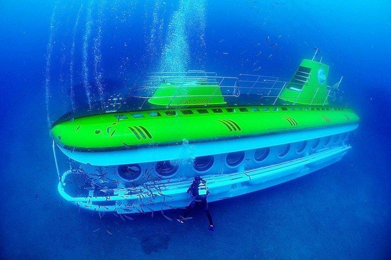 De Safari Submarino con los niños