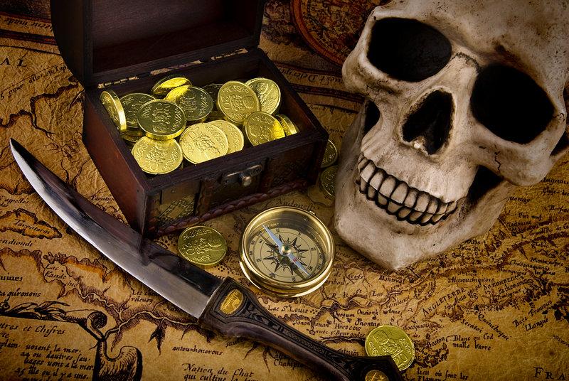 Fiesta pirata y búsqueda del tesoro