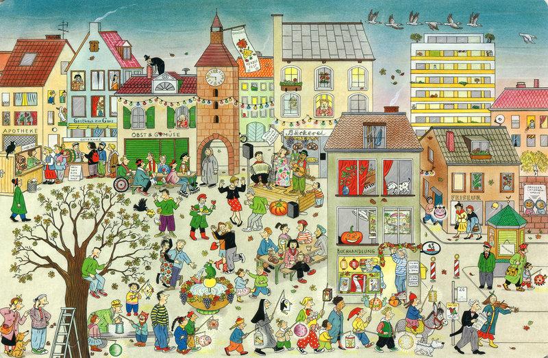El libro del Otoño de Susanne Berner