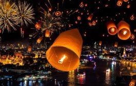 FESTIVALES DE LUCES EN TAILANDIA
