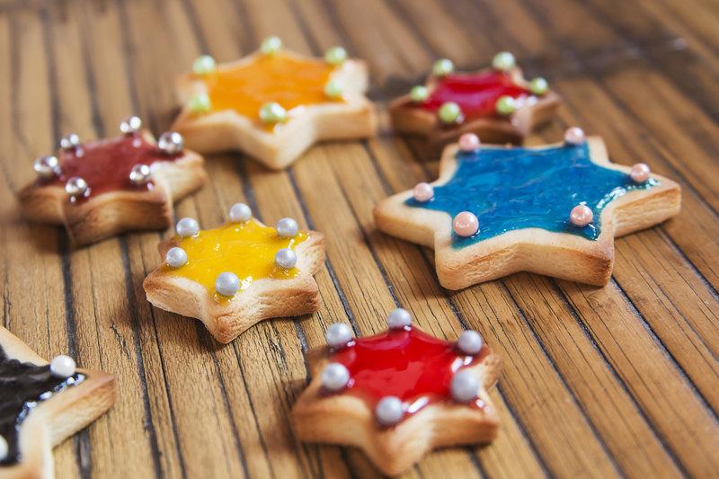 Deliciosas galletas de estrellas para hacer con los niños