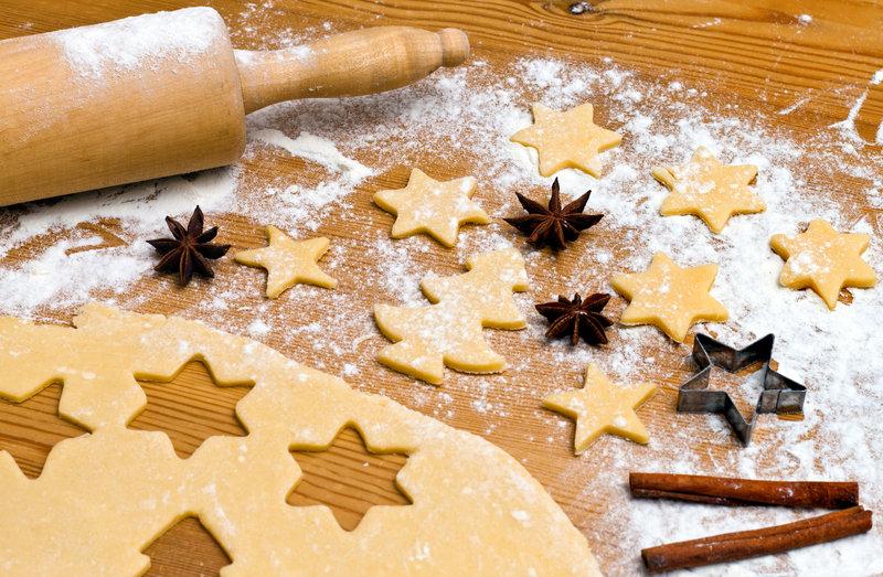 Preparando galletas con los niños, para Supertribus