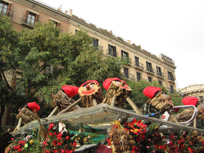 Caga tios en la Fira de Santa Llucia: Foto de Oh-Barcelona (Flickr)