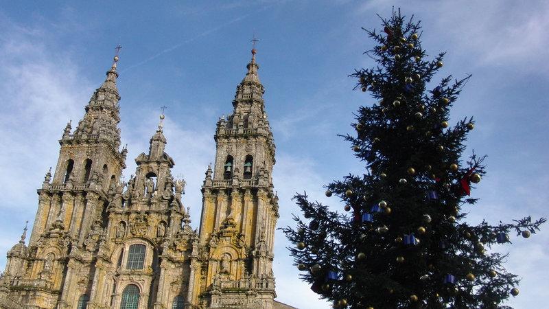 Obradoiro en Navidad: Foto de Amio Cajander (FLickr)