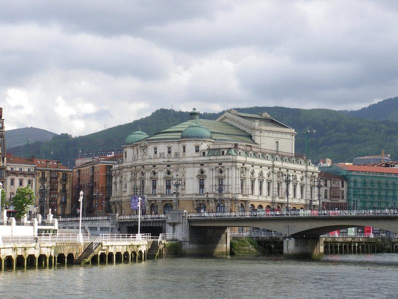 Teatro Arriaga, en Bilbao: Foto de Luiyo (Flickr)