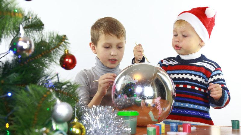 Bolas de Navidad Personalizadas: Manualidades con niños