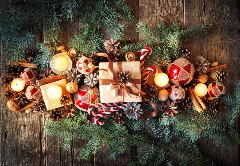 Centro de Mesa de Navidad: Manualidades con Niños para Supertribus