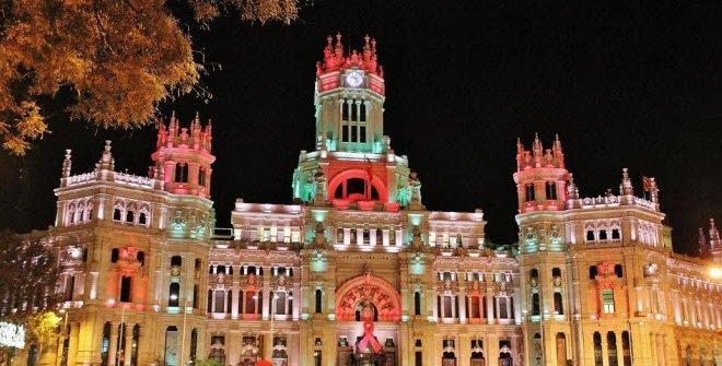 Giródromo del Paseo del Prado. Luz, Color, Música y Actividades en Madrid