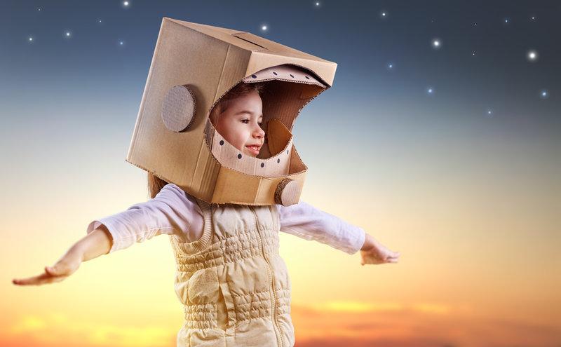 Disfraz de Niña Astronauta