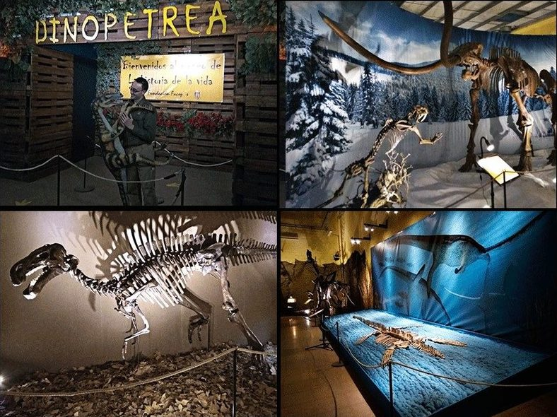 Dinopétrea en Alcalá de Henares, Madrid