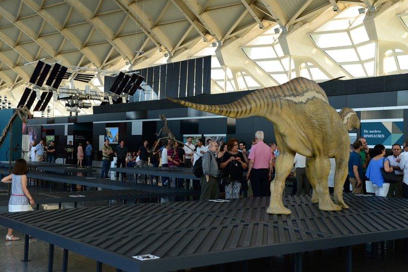 Els Nostres Dinosaures en la Ciudad de las Artes y las Ciencias