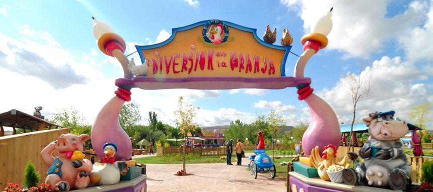 Diversión en la Granja en el Parque Europa