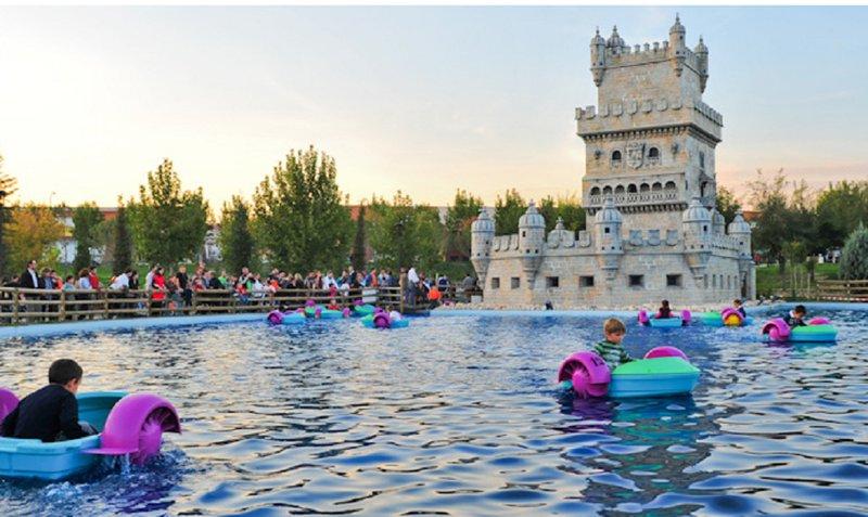 Embarcadero Infantil del Parque Europa