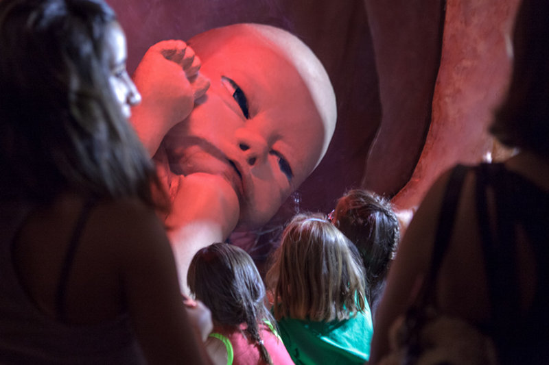 Exposición de La Mujer Gigante