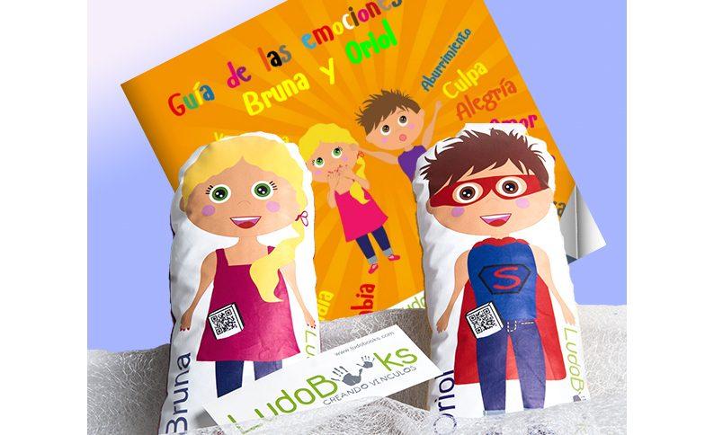 Libros de LudoBooks con muñecos personalizados