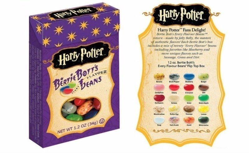 Grageas Harry Potter Bertie Botts de todos los sabores en Supertribus