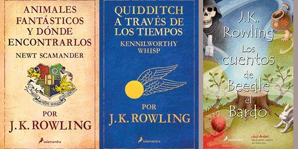 Libros de J.K. Rowling