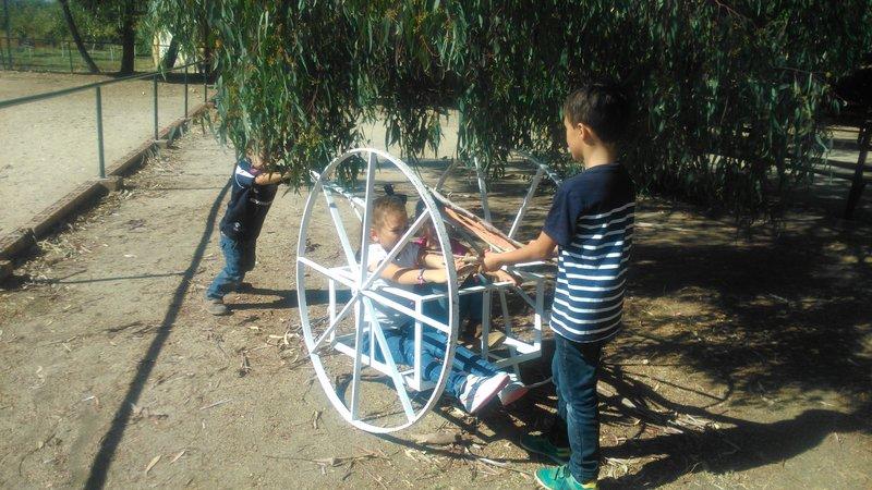 Aprendiendo y jugando en la Granja Escuela El Álamo