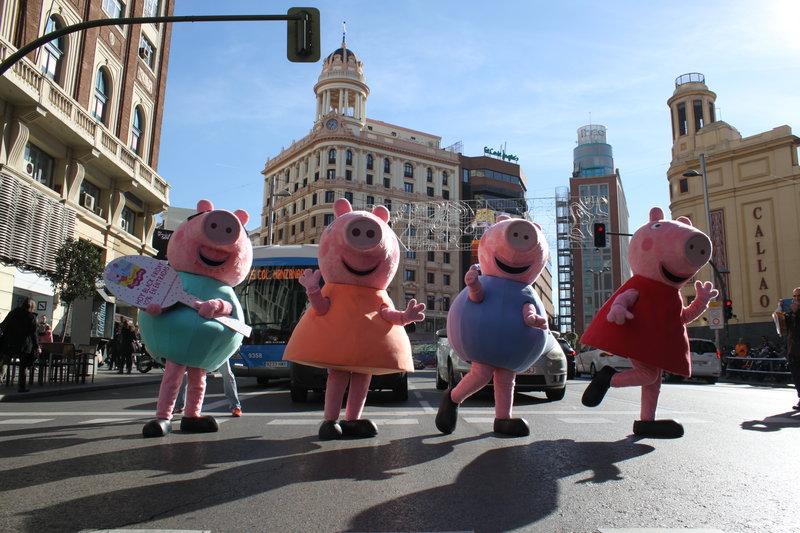 SORTEO ENTRADAS JUVENALIA + LOS MUNDOS DE PEPPA PIG CON BEN & HOLLY