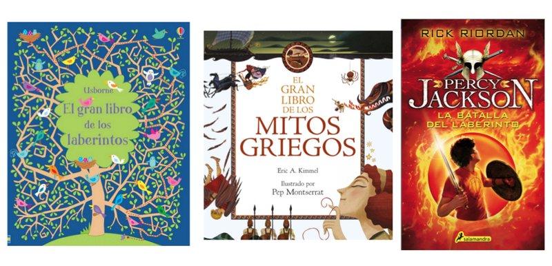 Libros geniales sobre laberintos para leer con niños