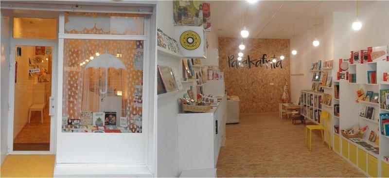 Librería Patakafrita en Pontevedra (Librerías geniales para niños en España)