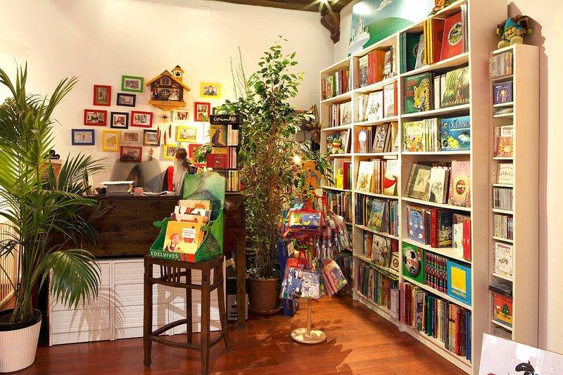 Librería El Dragón Lector en Madrid (Las Librerías Infantiles con más encanto)