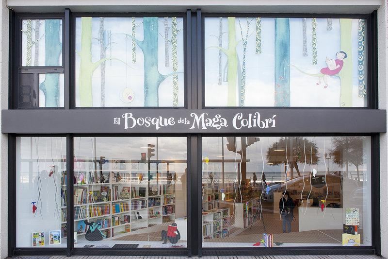 El Bosque de la Maga Colibrí en Gijón (Las mejores librerías infantiles de España)