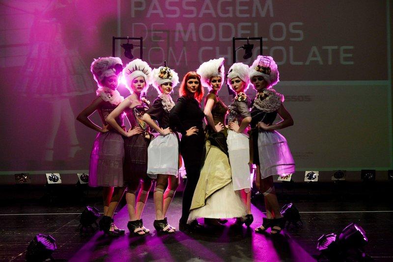 Desfile de Modelos del Festival de Chocolate de Óbidos