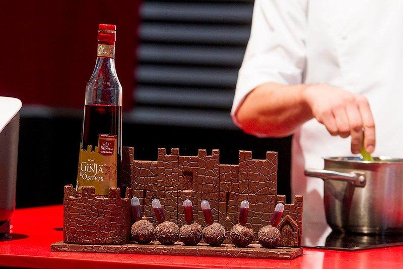 Ginja de Obidos en el Festival Internacional del Chocolate