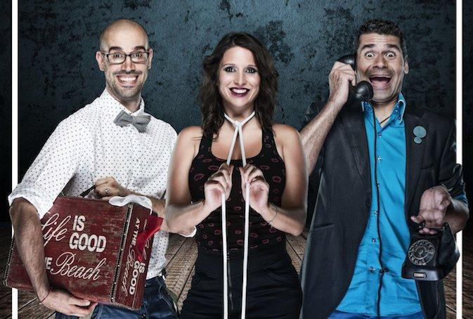 Magia Majara el espectáculo de Teatro con Julio Sánchez Elena Torner y German Mata