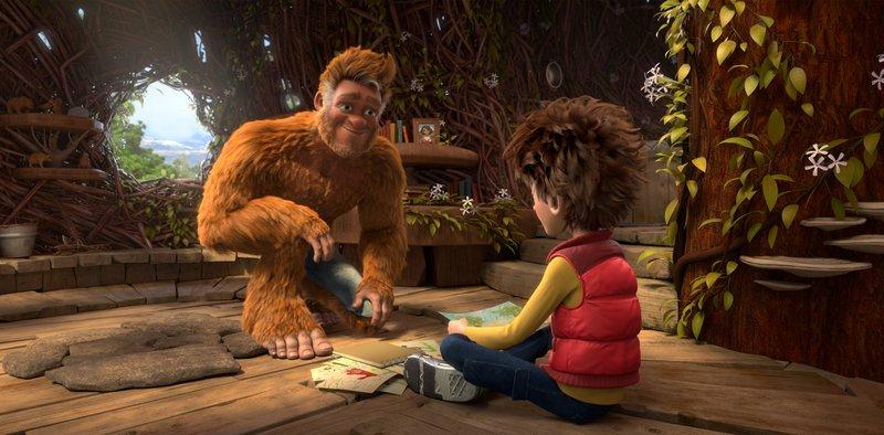 El hijo de Bigfoot en Supertribus