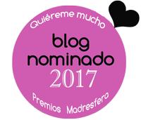 Insignia nominados 2017 Premios Madresfera Supertribus