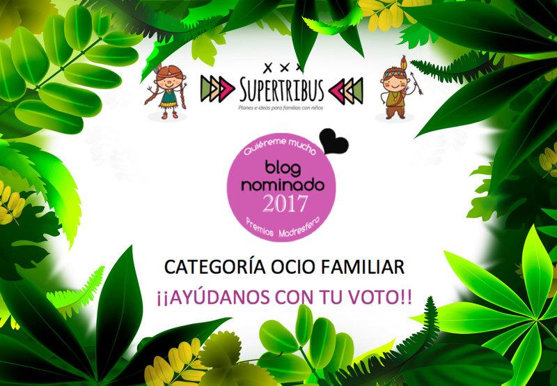 SUPERTRIBUS NOMINADO PREMIOS MADRESFERA 2017