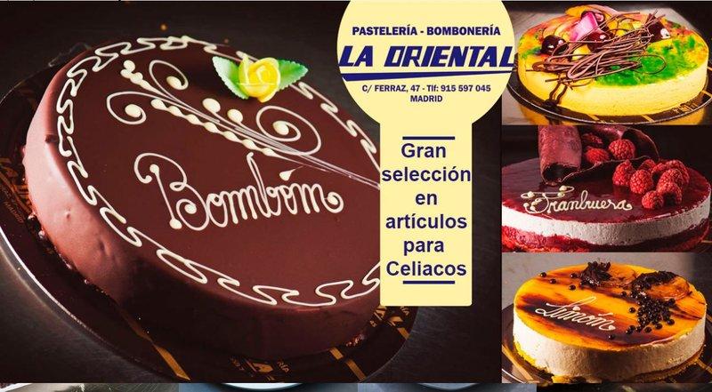 Pastelería La Oriental Sin Gluten en Madrid