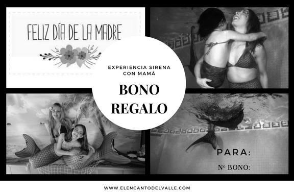 Bono Experiencia Sirenas Día de la Madre