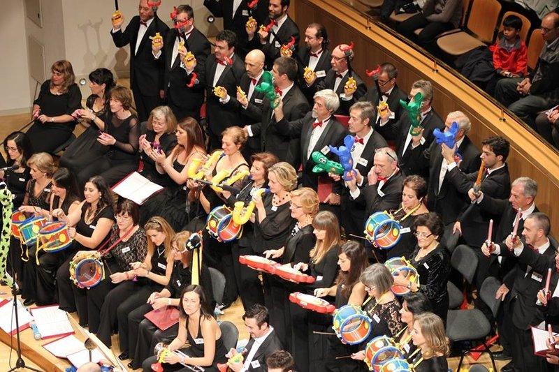 Concierto Música y Juguetes en el Auditorio Nacional de Madrid por Supertribus
