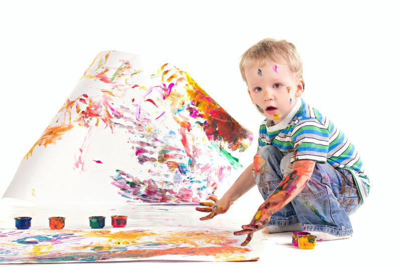 Dibujar y Pintar Actividades Montessori Verano en Supertribus