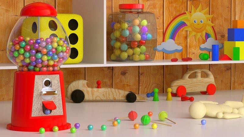 Fomentar el juego en un cuarto Montessori