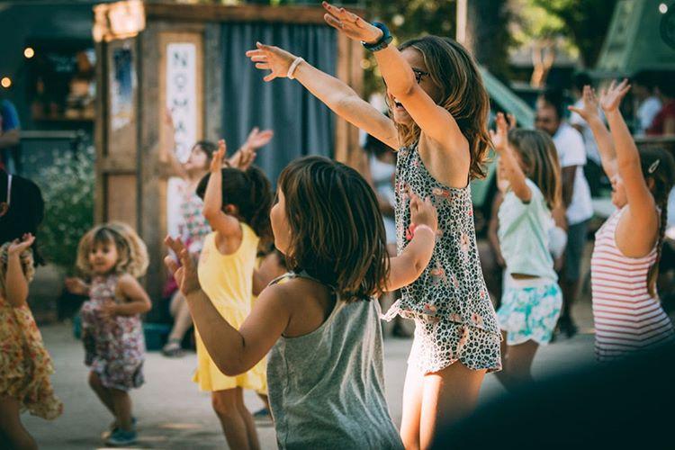 Nomad Festival Barcelona con Niños en Supertribus