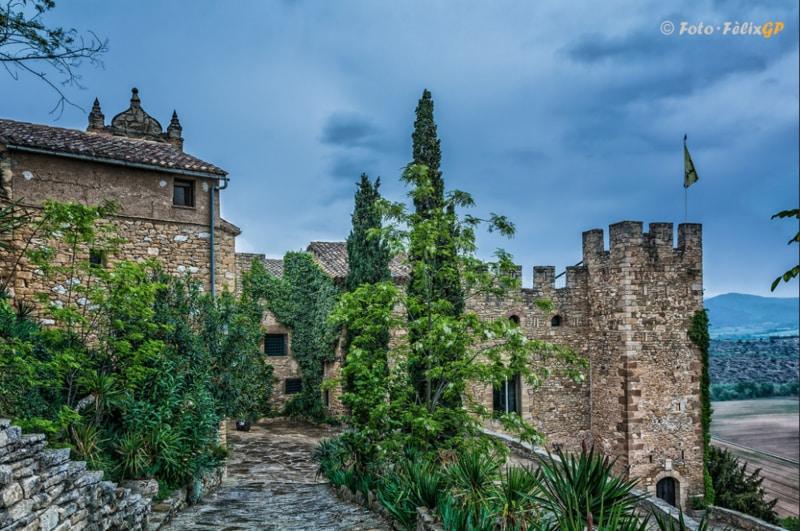 Castillo de Montsonís Foto de Flickr de Fèlix González