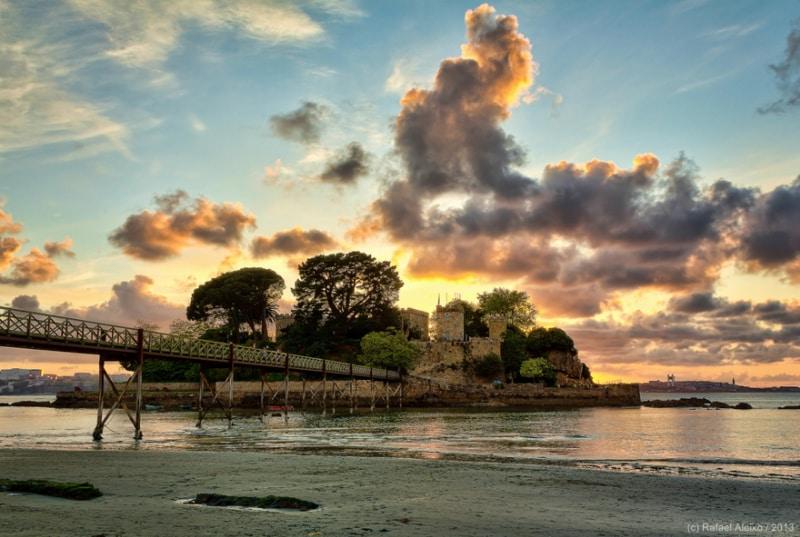 Castillo de Santa Cruz Foto de Flickr de Rafael Aleixo