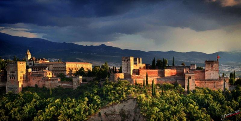 La Alhambra de Granada Foto de Flickr de Jesuscm